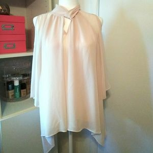 Chico's Blush Pink Top size 1